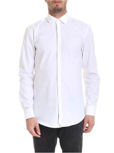 Hugo Boss - Shirt in pure white cotton