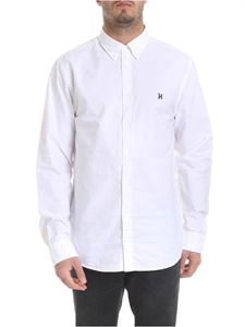 Tommy Hilfiger - White shirt with logo embroidery