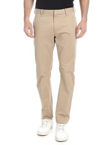 Tommy Hilfiger - Beige trousers with side bands
