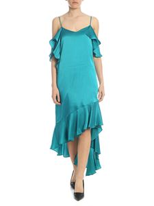 Semicouture - Rebel dress in teal green