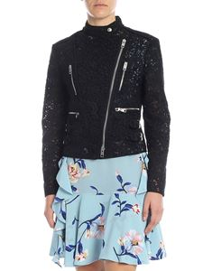 Ermanno Scervino - Biker jacket in black lace