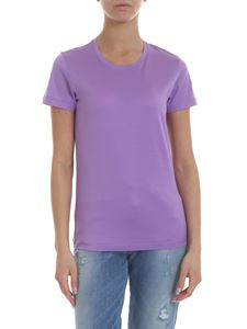 Moncler - Crewneck t-shirt in lilac