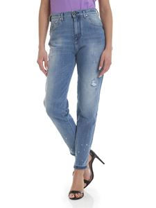 Jacob Cohën - Kimmy jeans in light blue with rips