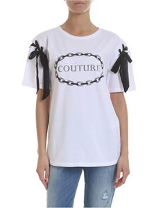 KI6? Who are you? - Couture T-shirt in white