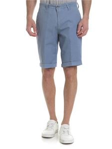 Briglia 1949 - Slim fit bermuda in light blue