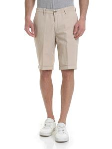 Briglia 1949 - Slim fit bermuda in beige