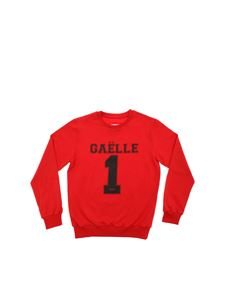 Gaelle Paris - T-shirt in red with front logo print