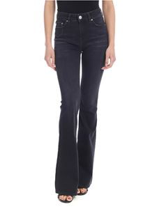 DON'T CRY - Flared jeans in black