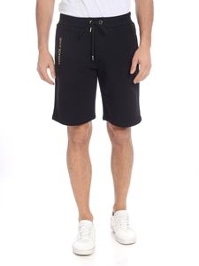 Versace Jeans - Bermuda in black with Versace Jeans logo