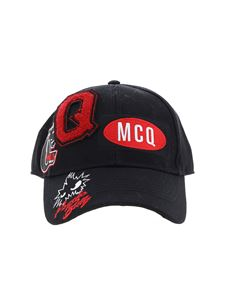 McQ Alexander Mcqueen - Billy Psycho cap in black