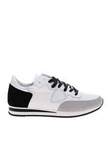 Philippe Model - Tropez L sneakers in black and white