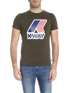 K-way - Pete T-shirt in military green