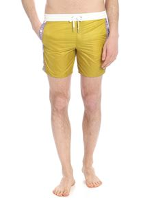 Colmar - Concrete swimsuit in pistachio green