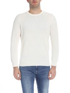 POLO Ralph Lauren - Cream-colored pullover with logo embroidery