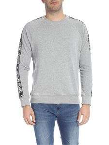 Dsquared2 - Crewneck sweatshirt in grey with branded bands