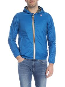 K-way - Jacques jacket in peacock blue
