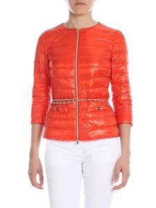 Herno - Lucrezia down jacket in orange