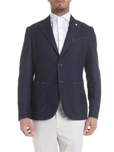 L.B.M. 1911 - Two buttoned jacket in blue