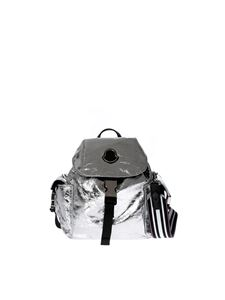 Moncler - Dauphine backpack in silver
