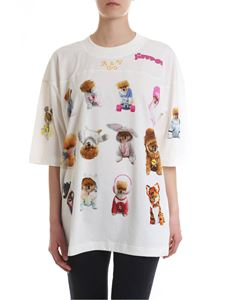Vivienne Westwood  - Jiffpom crew-neck t-shirt in ivory color