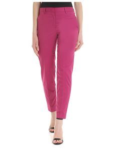 Paul Smith - Trousers in fuchsia with slash pocket