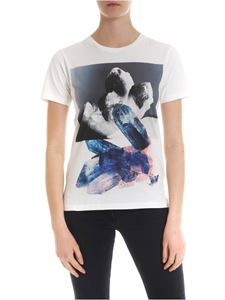 Paul Smith - T-shirt in white with contrasting print