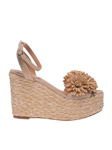 Paloma Barceló - Armele sandals in beige suede