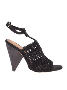 Paloma Barceló - Beatrice sandals in black