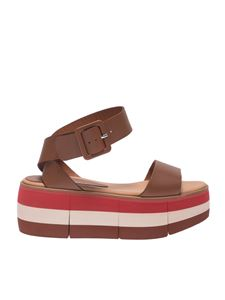 Paloma Barceló - Masako sandals in brown