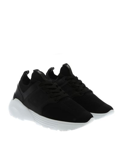 Hogan Carrie Over h443 hogan active one sneakers in black ...