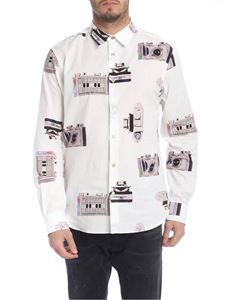 Paul Smith - Paul's Camers shirt in white