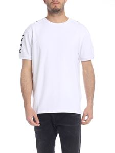 Karl Lagerfeld - White T-shirt with branded bands