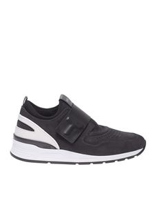 Tod's - T strap sneakers in black
