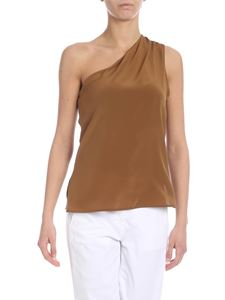 Max Mara - Sigfrid one-shoulder top in brown