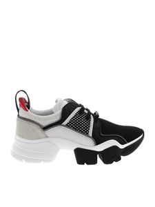 Givenchy - Chunky Jaw sneakers in black and white