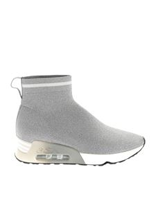 Ash - Lovely sneakers in silver lamé