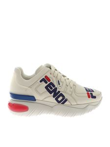 Fendi - Logo Mania Chunky sneakers in white