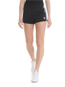 Adidas - Adidas Originals shorts 3 Stripes neri