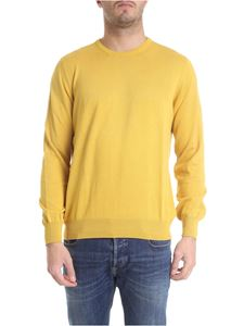 Fay - Pullover in yellow cotton