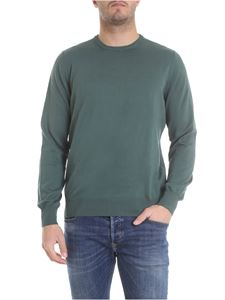 Fay - Pullover in green cotton