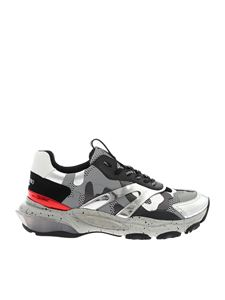 Valentino - Bounce sneakers in camo grey