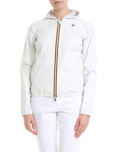 K-way - Lil Plus-Dot jacket in white