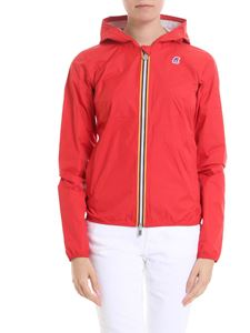 K-way - Lil Plus.Dot jacket in red