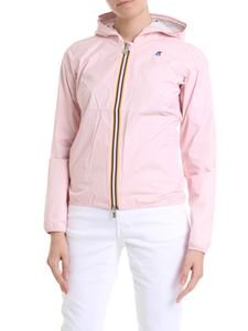 K-way - Lil Plus.Dot jacket in light pink