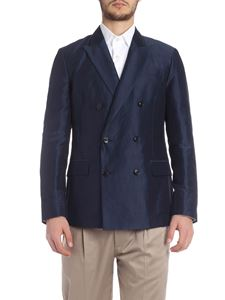 Paul Smith - Double-breasted jacket in blue