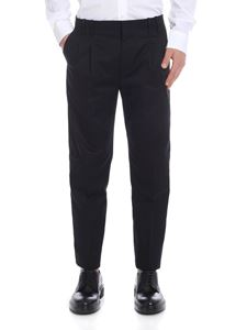 Paul Smith - Cotton trousers in black