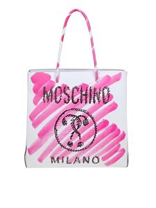 Moschino - Moschino Double Question Mark shopper bag