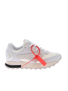 Off-White - HG Runner sneakers in ivory color