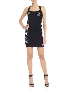 Off-White - Diag print dress in black