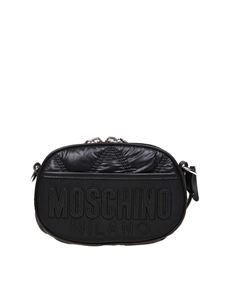 Moschino - Black waist bag with Moschino Milano logo